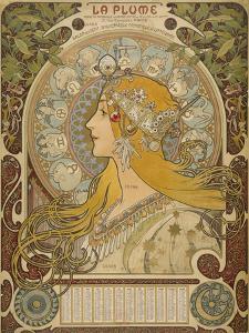 Alphonse Mucha, 1860-1939 by Alphonse Mucha