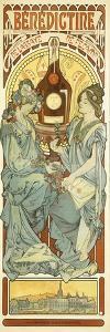 Benedictine, 1898 by Alphonse Mucha