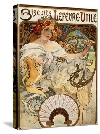 Biscuits Lefevre-Utile', Designed as a Calendar for 1897, 1896 (Lithograph in Colours)
