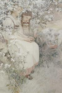 Blessed are the Pure in Heart: for They Shall See God, 1906 by Alphonse Mucha