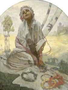 Bohemian Sun Dreamer by Alphonse Mucha