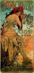 Carriage Dealers, 1902 by Alphonse Mucha