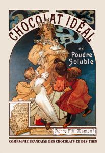 Chocolat Ideal by Alphonse Mucha