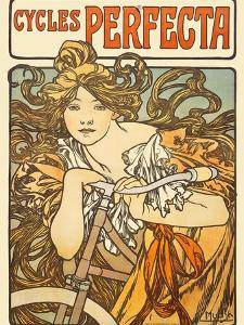 Cycles Perfecta, 1902 by Alphonse Mucha
