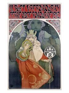 Czech Slet, 1912 by Alphonse Mucha