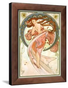 Dance, Art Nouveau Beauty by Alphonse Mucha