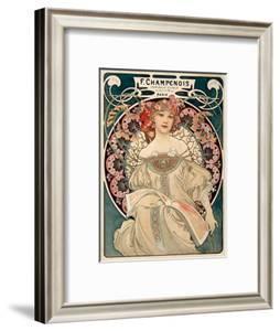 F. Champenois imprimeur Editeur by Alphonse Mucha