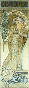 Gismonda, C.1894 by Alphonse Mucha