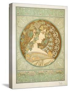 Ivy, 1901 by Alphonse Mucha