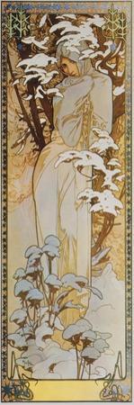 Jahreszeiten: Der Winter, 1900