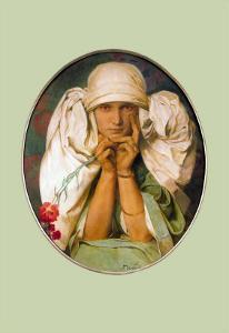 Jaroslava Mucha by Alphonse Mucha