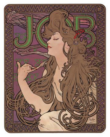 Job, c.1898 by Alphonse Mucha