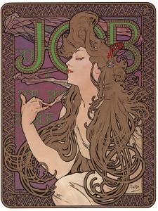 Job, c.1898 by Alphonse Mucha