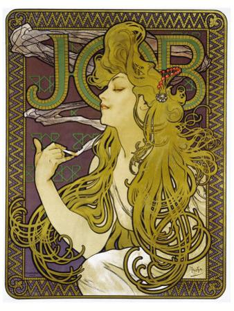 Job by Alphonse Mucha