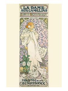 La Dame Aux Camelias by Alphonse Mucha