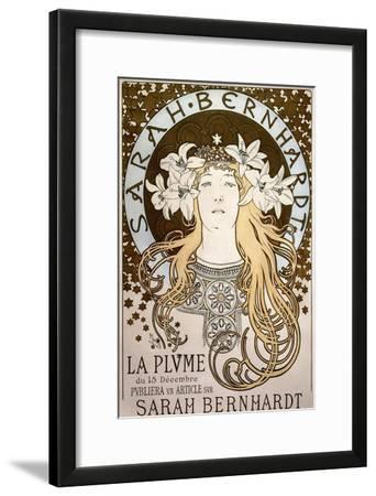 La Plume', Featuring Sarah Bernhardt, 1896