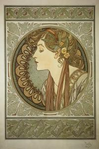 Le Laurier by Alphonse Mucha