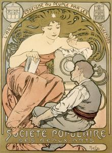 Magic Lantern Art Show by Alphonse Mucha