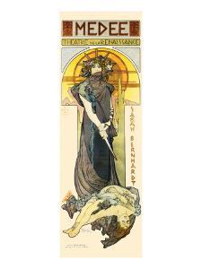 Medee by Alphonse Mucha