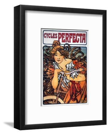 Mucha: Bicycle Ad, 1897