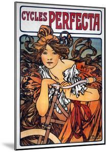 Mucha: Bicycle Ad, 1897 by Alphonse Mucha