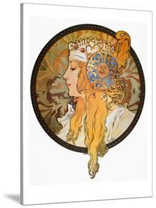 Mucha: Poster, C1900 by Alphonse Mucha