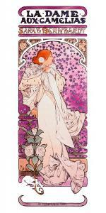 Mucha Sarah Bernhardt Tour Poster by Alphonse Mucha