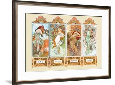 Mucha The Four Season