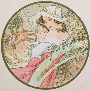 November, 1899 (Detail) by Alphonse Mucha