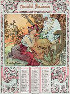 Old Age, 1897 by Alphonse Mucha