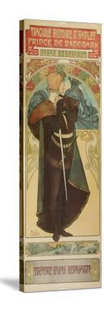 Plakat Fuer &Quot;Hamlet&Quot; Im Theater Sarah Bernhardt, 1899