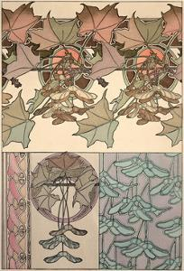 Plate 39 from 'Documents Decoratifs', 1902 by Alphonse Mucha