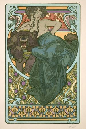 Plate 47 from 'Documents Decoratifs', 1902 by Alphonse Mucha