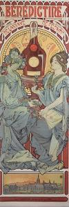Poster Advertising 'Benedictine' Liqueur, 1898 by Alphonse Mucha