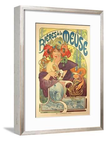 Poster Advertising 'Bieres De La Meuse', 1897