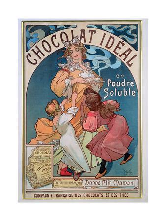 Poster Advertising 'Chocolat Ideal', 1897