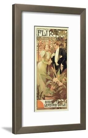 Poster Advertising 'Flirt' Biscuits by 'Lefevre-Utile', 1899