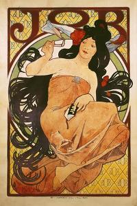 Poster Advertising 'Job', 1898 by Alphonse Mucha