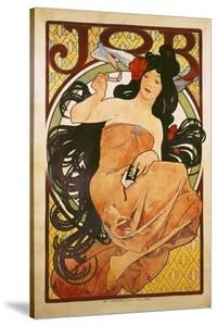 Poster Advertising 'Job', 1898 by Alphonse Mucha