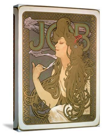 Poster Advertising 'Job' Cigarette Papers, 1896