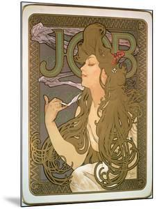Poster Advertising 'Job' Cigarette Papers, 1896 by Alphonse Mucha