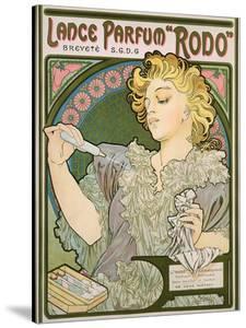 Poster Advertising Lance Parfum 'Rodo', 1896 by Alphonse Mucha