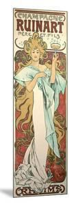 Poster Advertising 'Ruinart' Champagne, 1896 by Alphonse Mucha