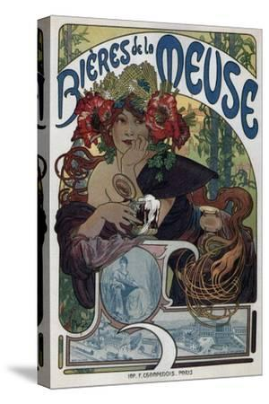 Poster for the Bieres De La Meuse, 1897