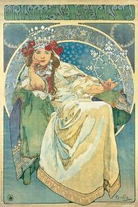 Princess Hyacinth, 1911 by Alphonse Mucha