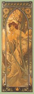 Reverie du Soir by Alphonse Mucha