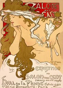 Salon des Cent, 1896 by Alphonse Mucha