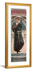Sarah Bernhardt (1844-1923) as Hamlet at the Theatre Sarah Bernhardt, 1899 by Alphonse Mucha