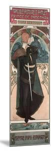 Sarah Bernhardt (1844-1923) as Hamlet at the Theatre Sarah Bernhardt, 1899 by Alphonse Mucha