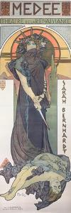 Sarah Bernhardt (1844-1923) as Medee at the Theatre De La Renaissance, 1898 by Alphonse Mucha